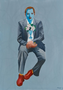 The Reluctant Groom - 128 x 90cm | oil on canvas | 2014