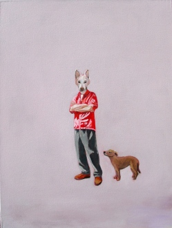 Dog Day Afternoon 64 x 48cm oil on canvas 2012